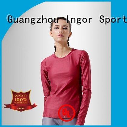 Wholesale compression Sports sweatshirts INGOR Brand