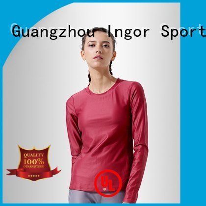 Wholesale compression Sports sweatshirts INGOR Brand
