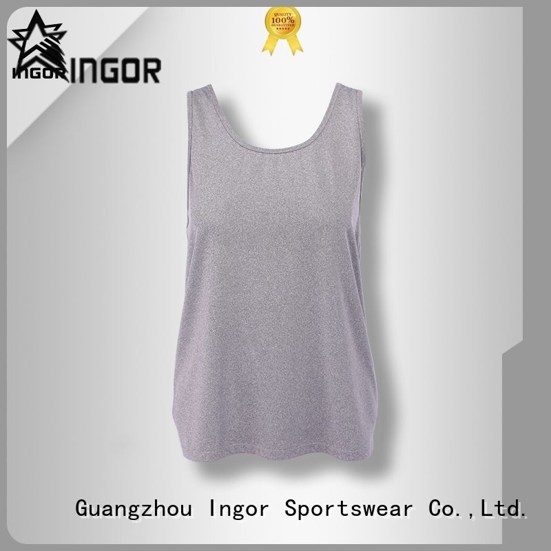 sports top cross workout INGOR Brand tank top supplier