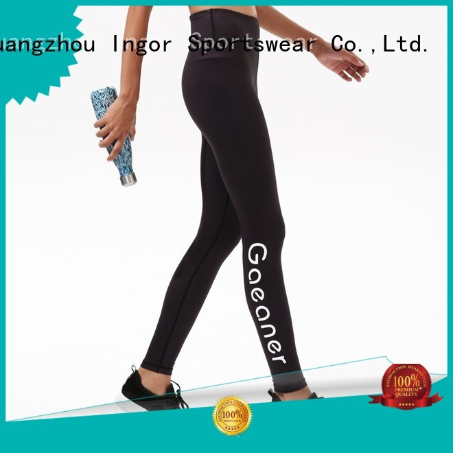 ladies leggings  print waist yoga pants blue company