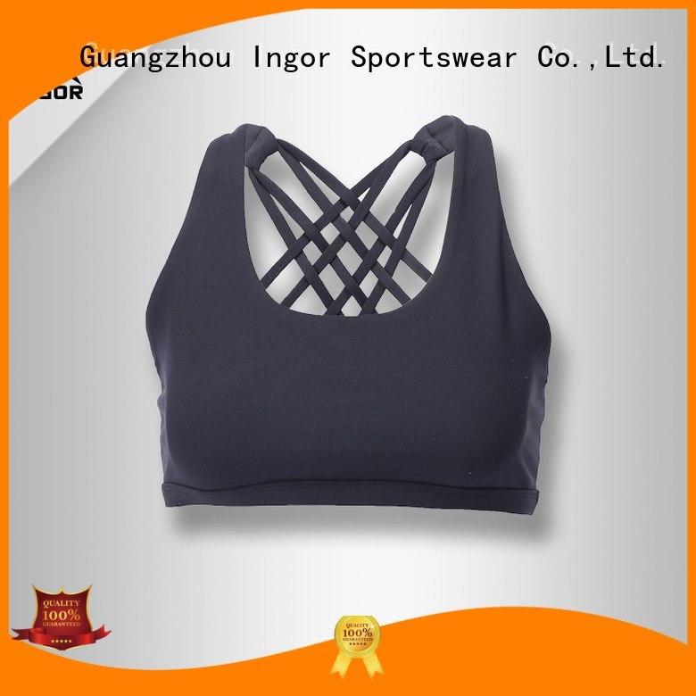 Quality INGOR Brand gym cross sports bra