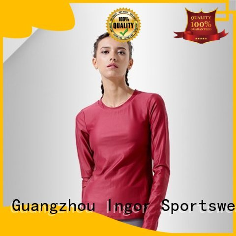 tee drawstring OEM Sports sweatshirts INGOR