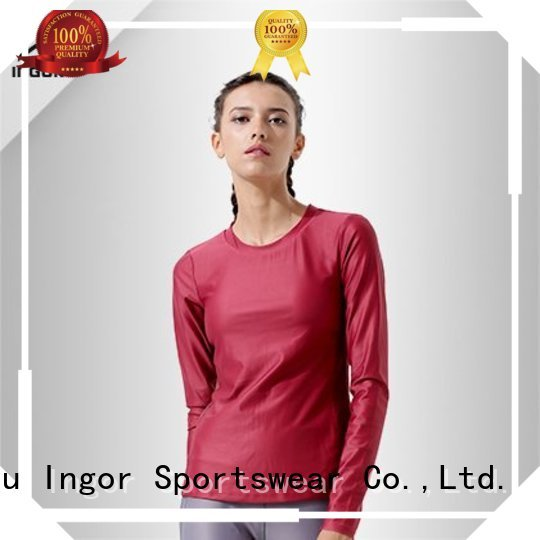 INGOR Brand tee sleeve sweatshirts for ladies