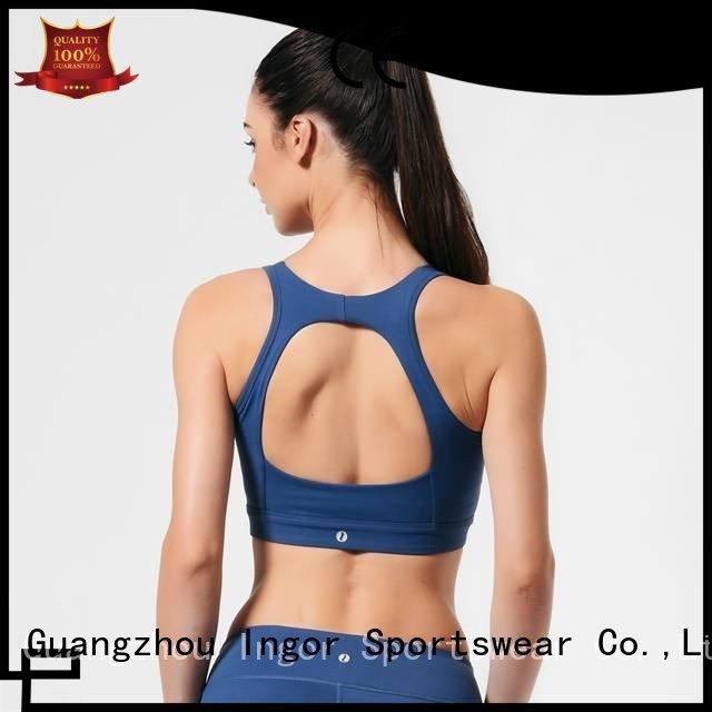 Custom plain running sports bra INGOR top