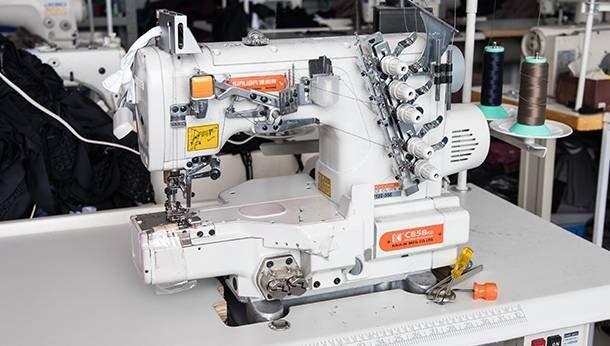 Twin Needles Machine