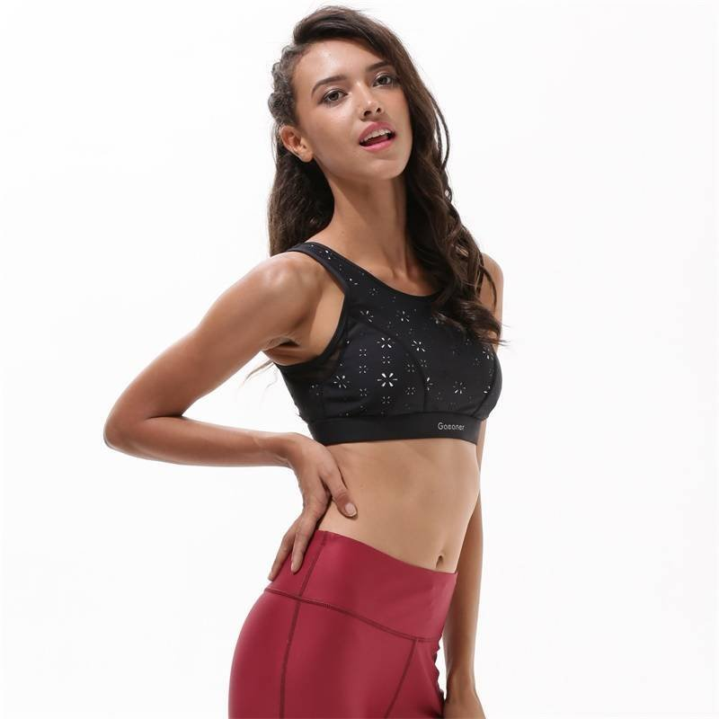 Y1921B21 Black Sports Bra Online