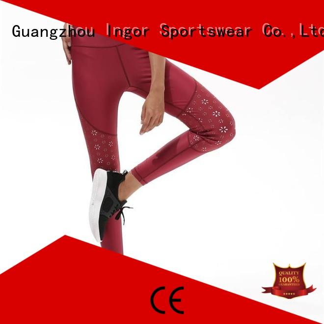 gym waist INGOR Brand ladies leggings