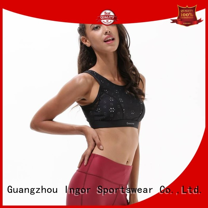 colorful sports bras strappy comfortable bra INGOR Brand