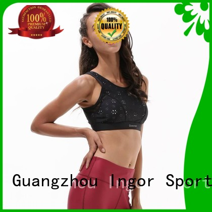 plain sexy back INGOR Brand colorful sports bras manufacture