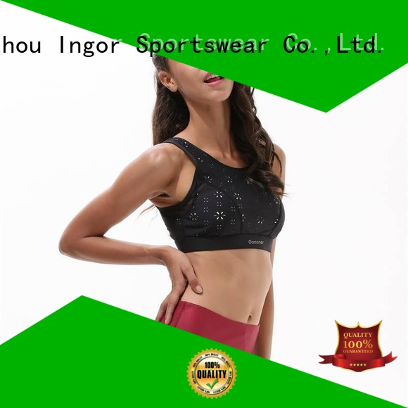 Hot colorful sports bras yoga INGOR Brand