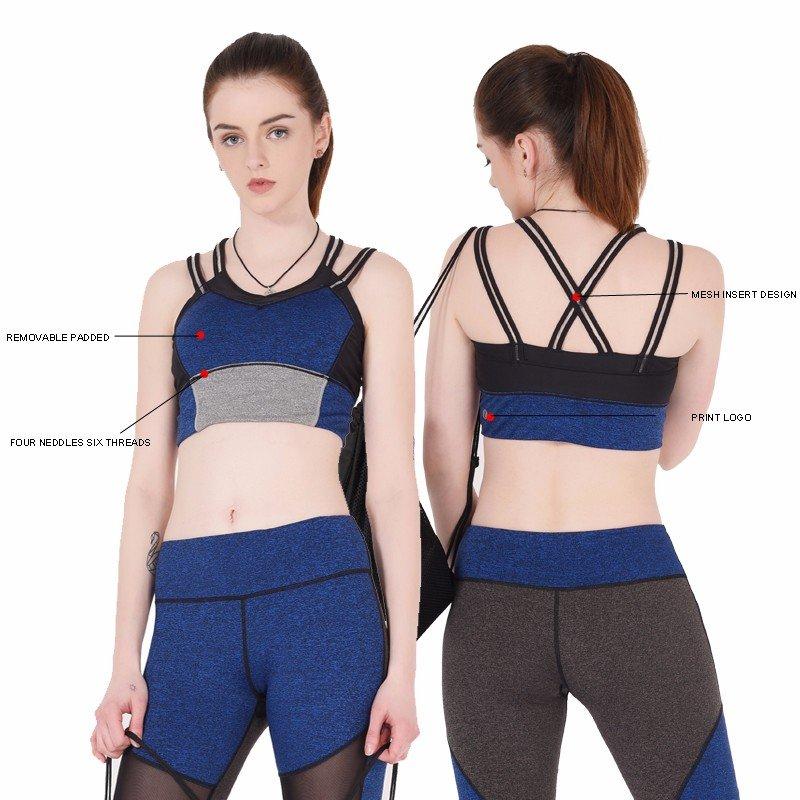 Wholesale plain sports bra INGOR Brand