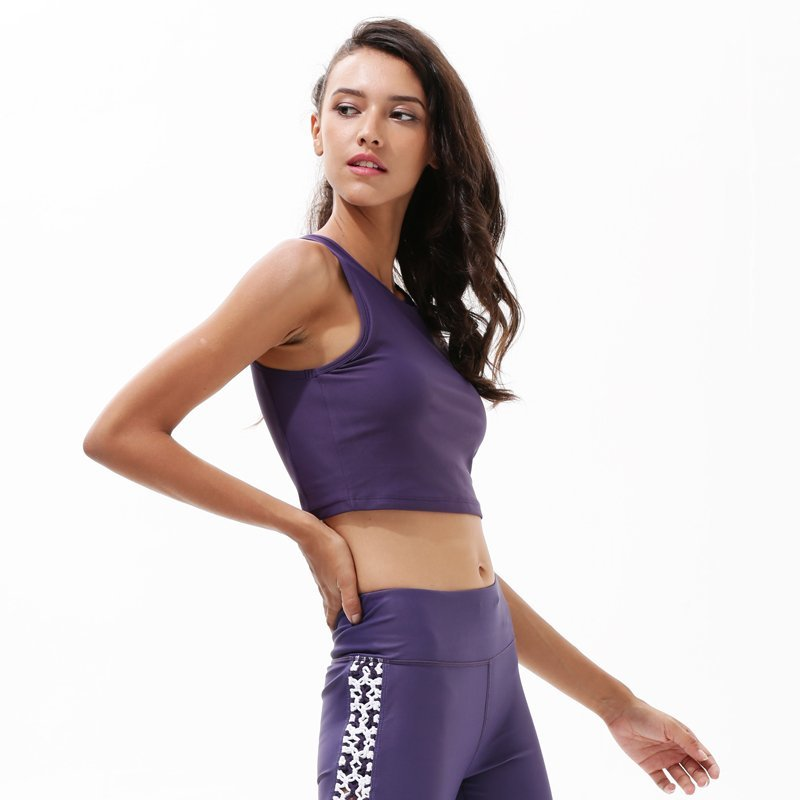 Running Workout Longline High Neck Sports Bra Y1921B17