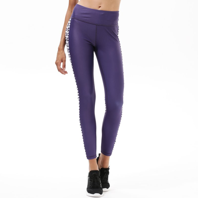 Y1921P18 Spandex Yoga Pants High Waisted Workout Sports Womens Leggings