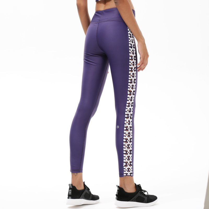 Spandex Yoga Pants High Waisted Workout Sports Womens Leggings Y1921P18