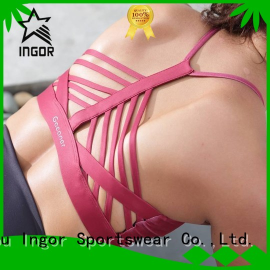 companies womens design sports bra INGOR